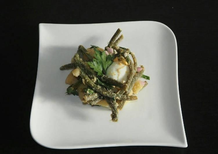 Salade haricots verts et pommes de terre