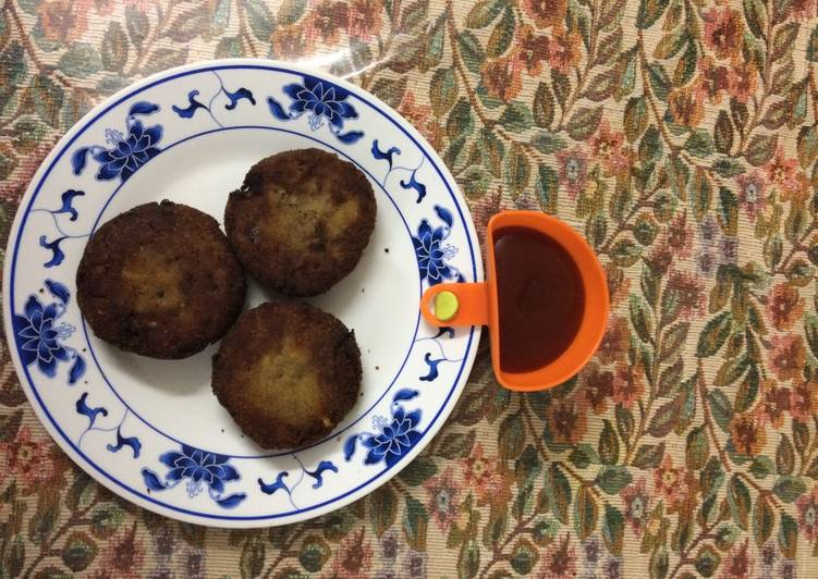 25 Minute Recipe of Ultimate Fish Cutlets