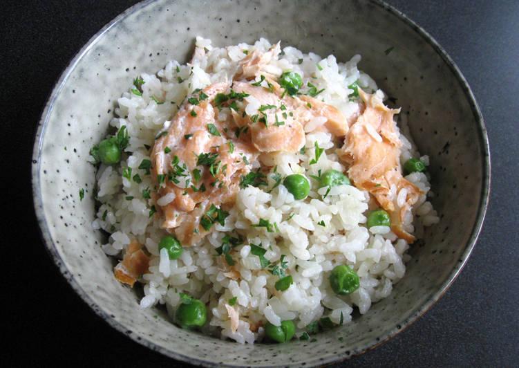 Smoked Salmon Takikomi Gohan