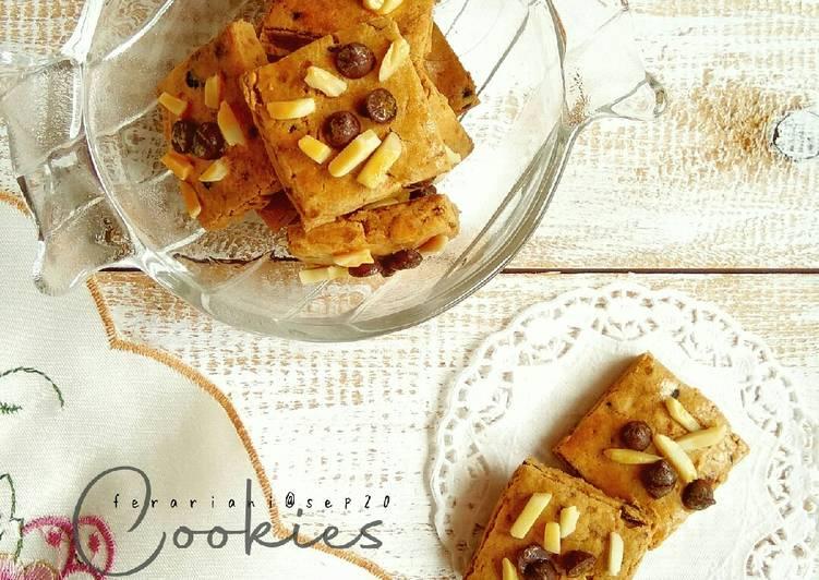 Gluten-free Almond Chocochip Cookies