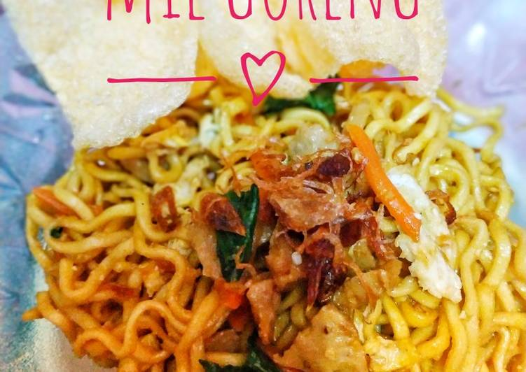 16. Mie Goreng simple