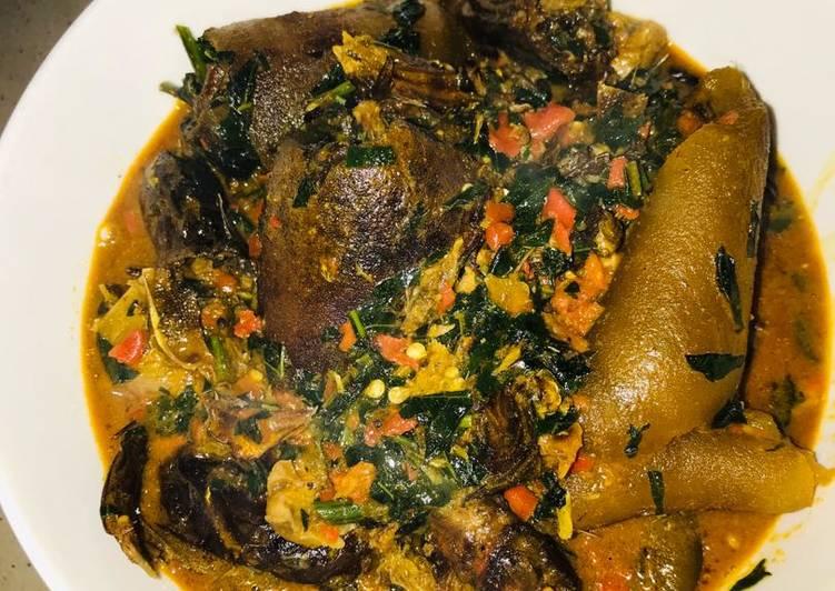 Recipe of Favorite Title: six recipes ogbono soup