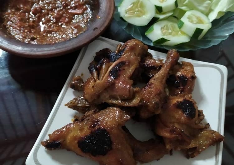 Ayam bakar kecap pedas
