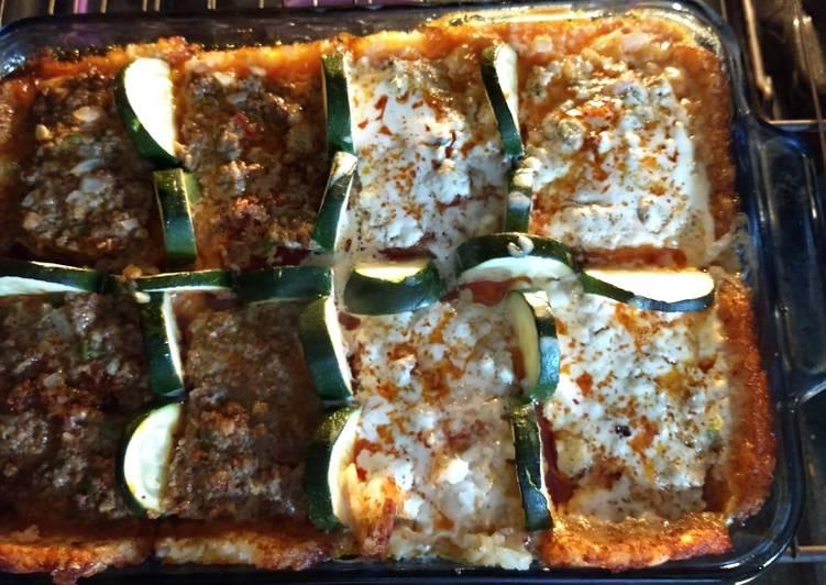 Meatloaf gratin