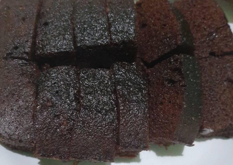 Bolu chocolatos takaran 3 sendok