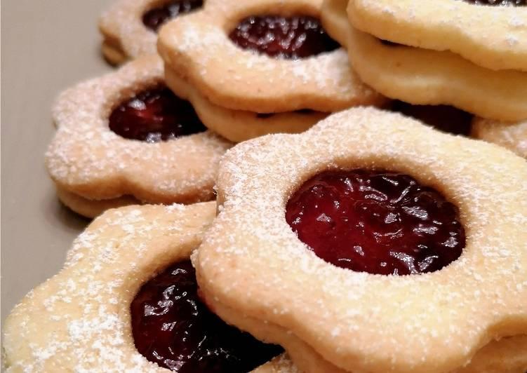 Ricetta Biscotti occhi di bue gluten free 🌺