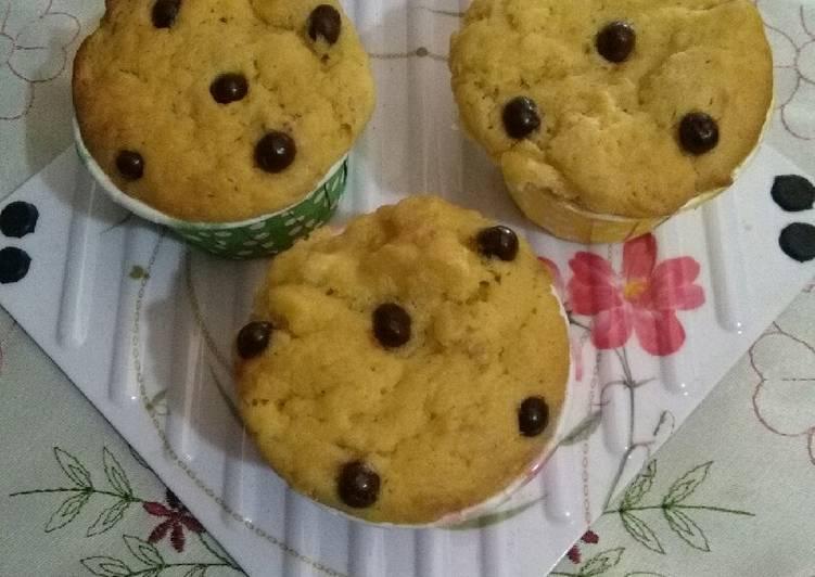 Brudel Pisang Cupcake (Rebake bunda Ei)
