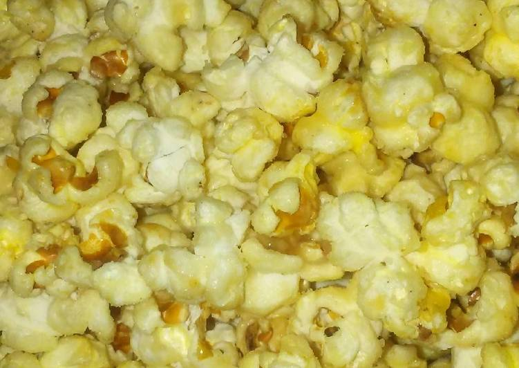 Glazed Popcorn