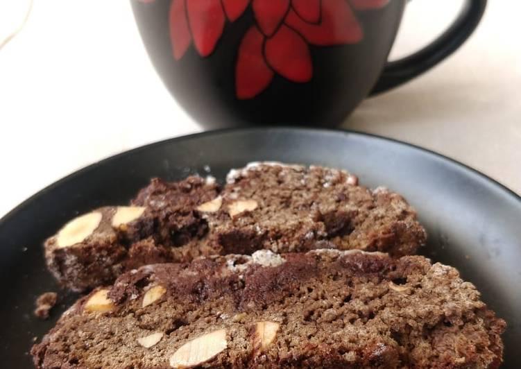 Choco-Almond Biscotti