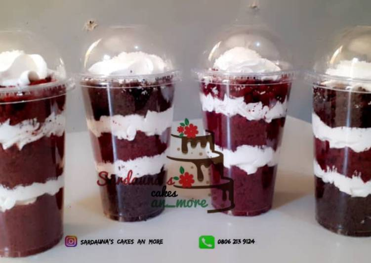 Easiest Way to Make Super Quick Homemade Cake parfait