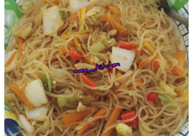 Bikin Nagih Resep Bihun Goreng Mix Sayur Enak