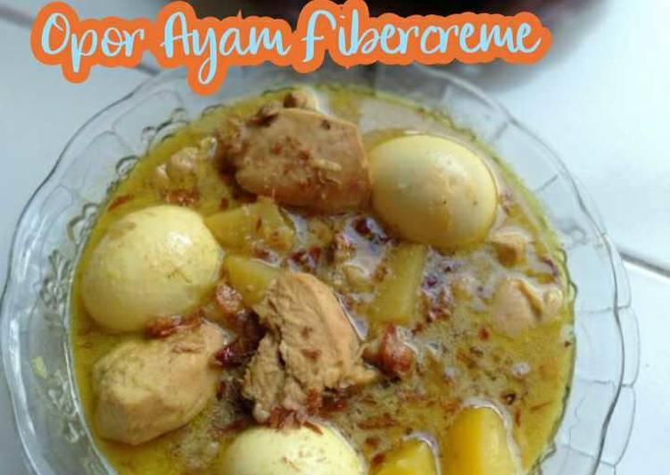 Opor Ayam Fibercreme | Opor Ayam Komplit Fibercreme