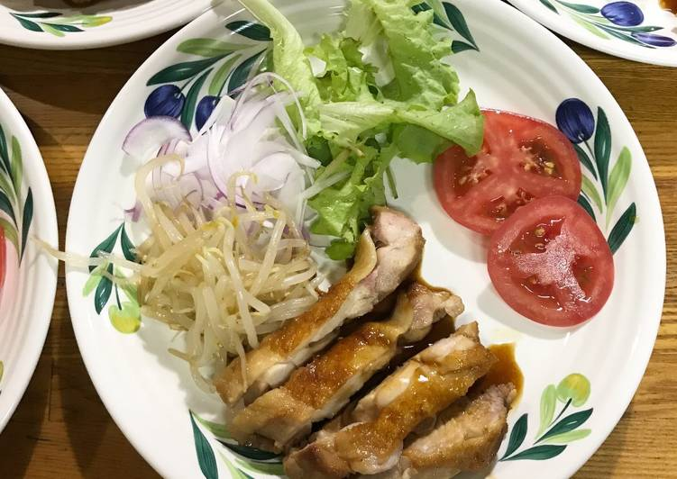 Recipe: Delicious Ginger soy sauce chicken with honey