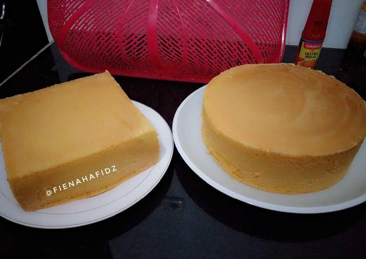 Bolu jadul sederhana dasar kue ultah - cookandrecipe.com