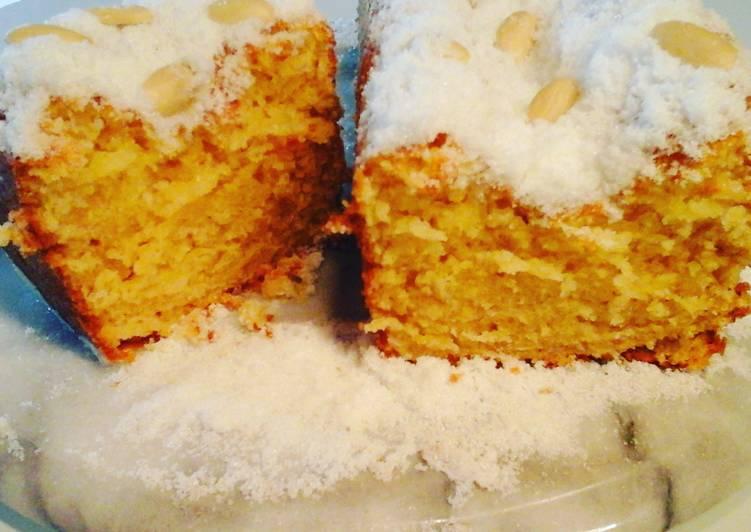 Almond Cake (Patespani Amygdalou)