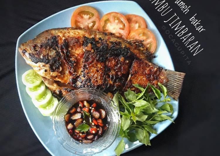 Ikan Gurameh Bakar Bumbu Jimbaran