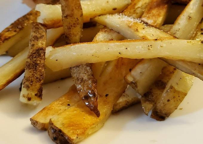 Simple Baked French fries