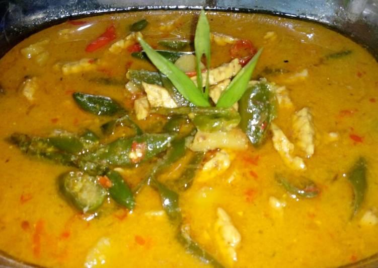 Sayur cabe khas Cirebon
