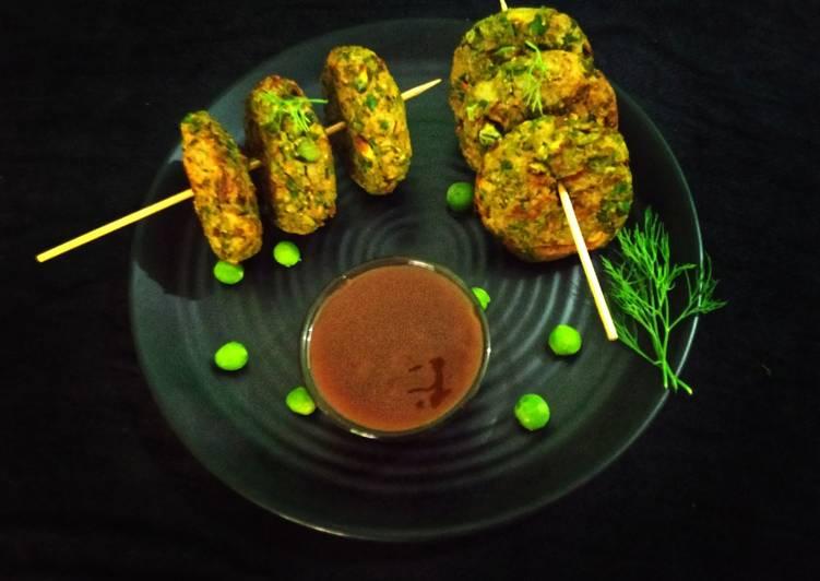 Recipe of Perfect Peas tikki