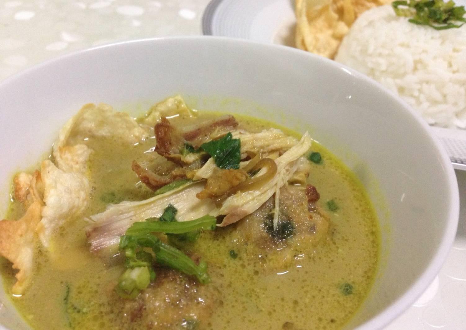 Resep Soto Ayam Medan khas rumahan rasa restoran oleh ...