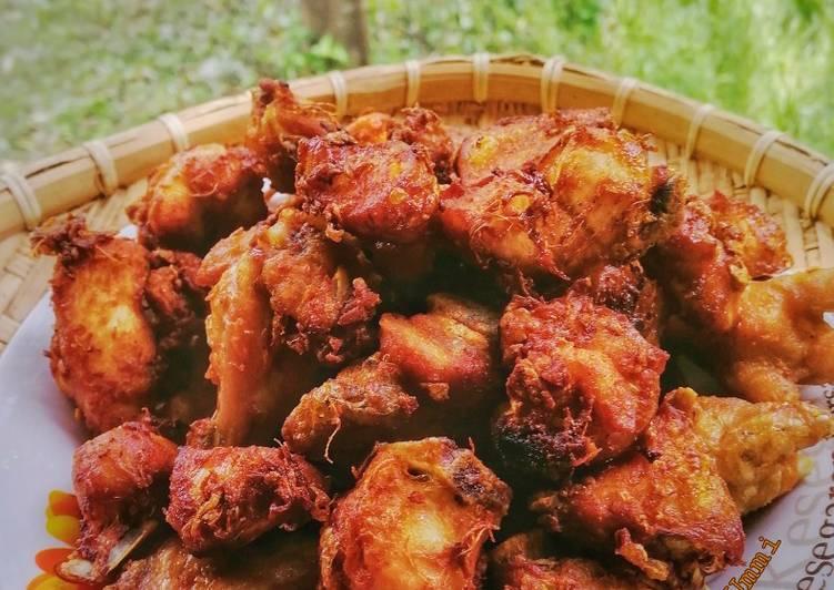 Ayam Goreng Bawang Putih - velavinkabakery.com