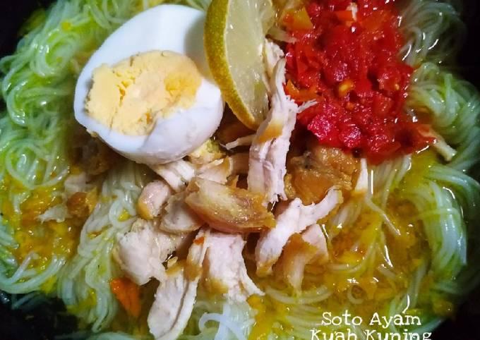 Langkah Mudah untuk Membuat Soto Ayam Kuah Kuning, Menggugah Selera