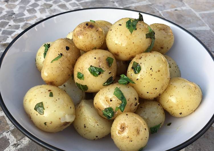 Minted New Potatoes
