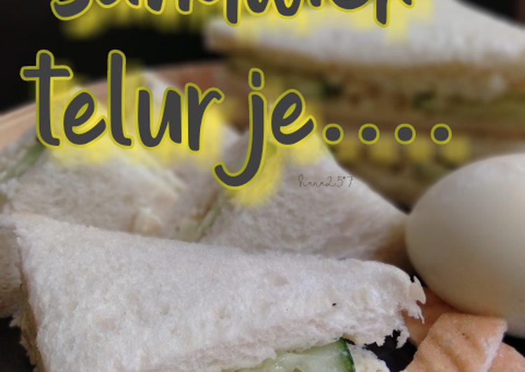 Sandwich telur je