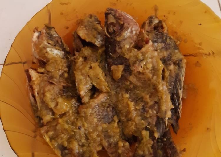 Ikan nila 🐟 sambel ijo