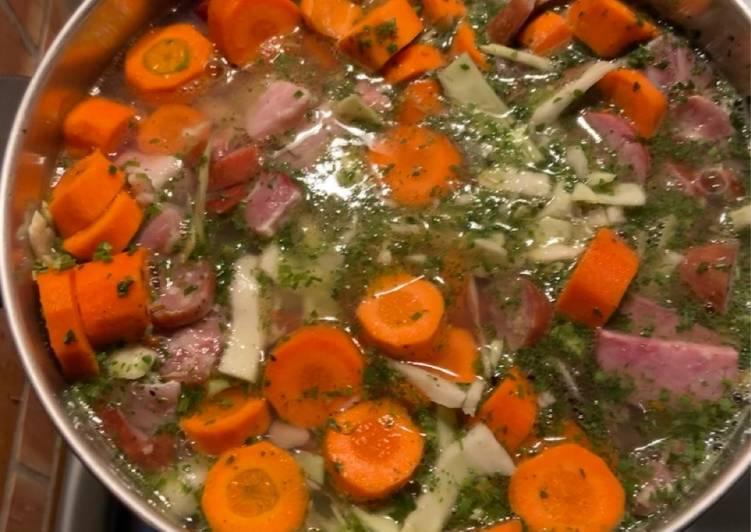 Recette Délicieuse Soupe au automne