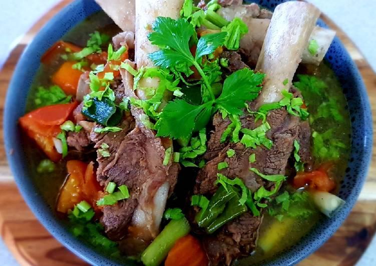 SUP IGA SAPI (Beef Ribs Clear Sup)