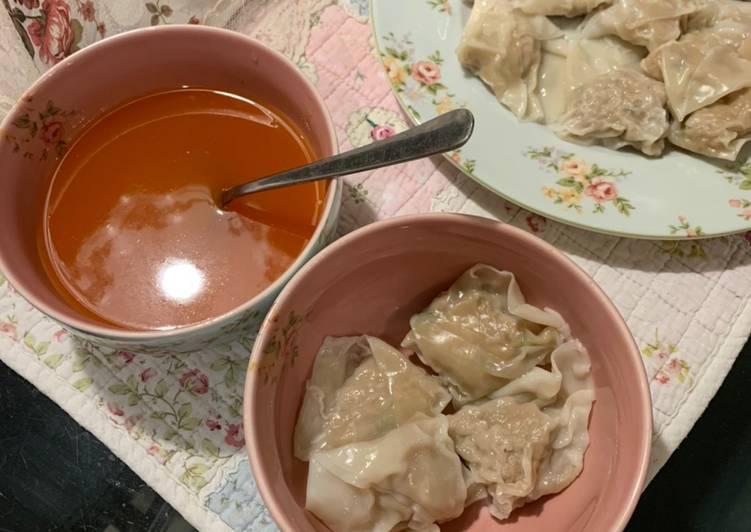 Dumpling/Pangsit Ayam Enak Banget