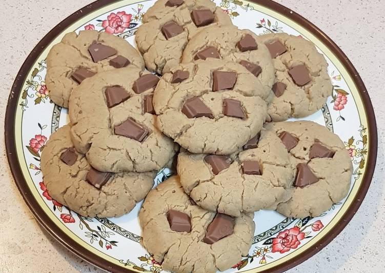 Homemade chewy cookies