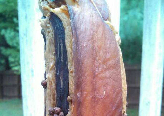 Cantonese dry aged pork belly