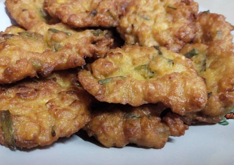Bakwan Jagung Gurih (resep 1)