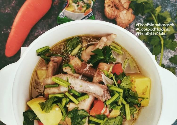 Sup Kaki Ayam #PhopByLiniMohd #Batch21 - velavinkabakery.com