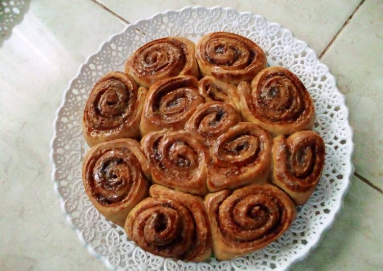 Recipe of Super Quick Homemade Cinnamon roll