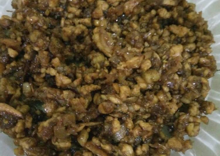 Baso Ayam utk isian Pao atau Roti