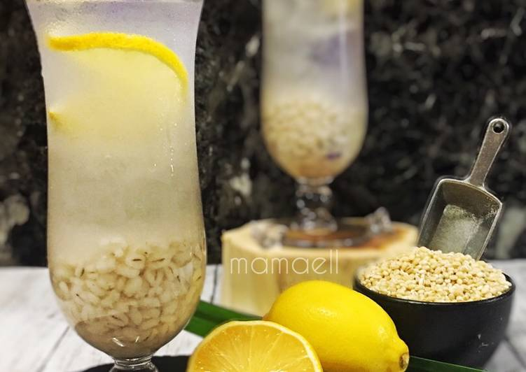 Barli Lemon (maratonraya) #minuman #minggu2 - resepipouler.com
