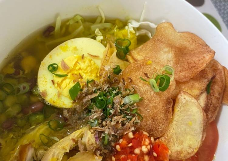 Soto Ayam Bening (w/ Special Topping)