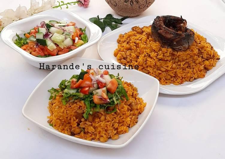 Palm oil jollof rice