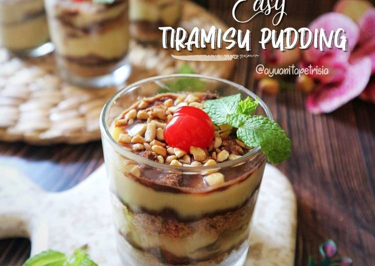 Tiramisu pudding easy