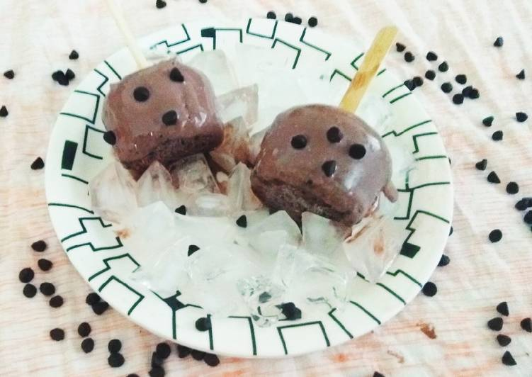 Easy Chocolate Malai Kulfi