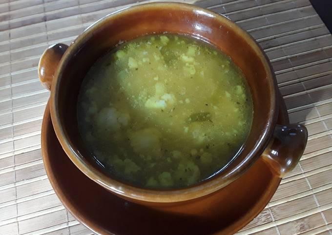 Sig's Leftover Chicken Soup