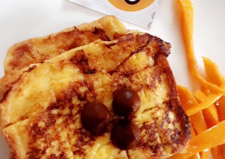 Mango French toast