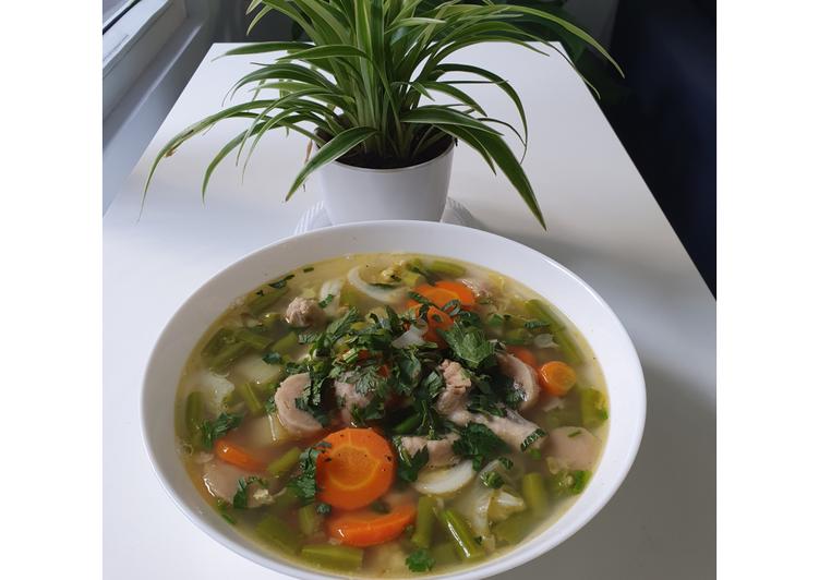 Sup Ayam Sayuran