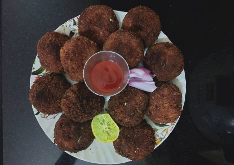 Fish Cutlets(Indian spiced fish croquettes)