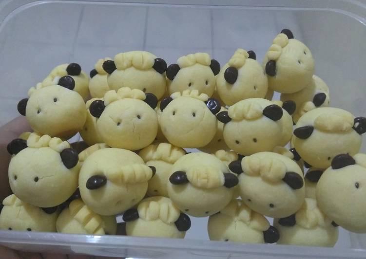 German sheep cookies ala mamah byan