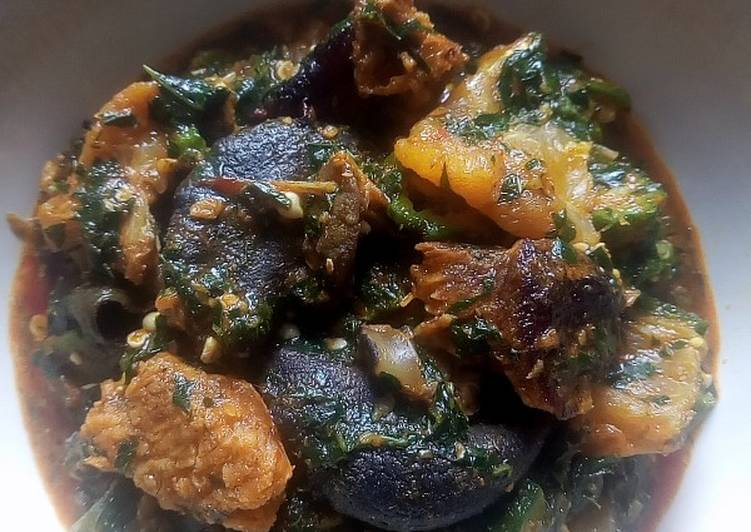 10 Minute Easiest Way to Prepare Fall Okro soup with snail