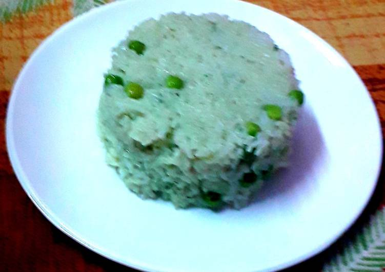 How to Make Any-night-of-the-week Green peas pulav